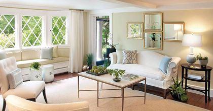 Gương phòng khách hiện được cách điệu để mang tính mỹ thuật nhiều hơn