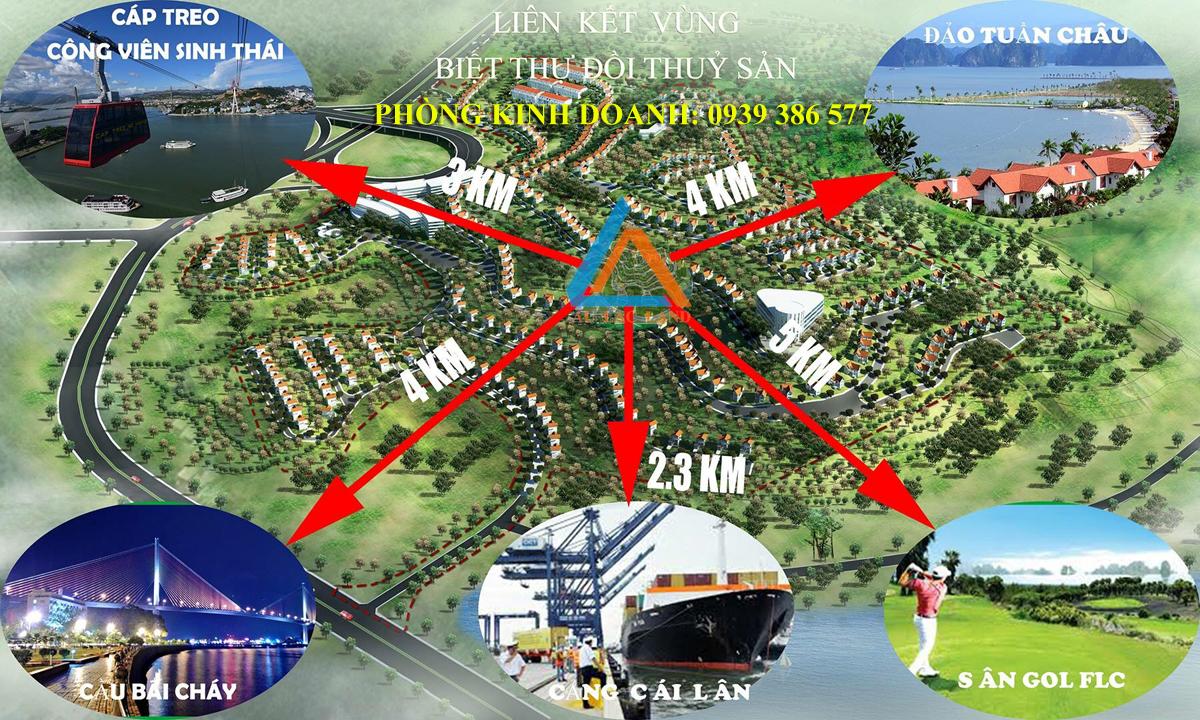 biệt thự đồi thủy sản Quảng Ninh