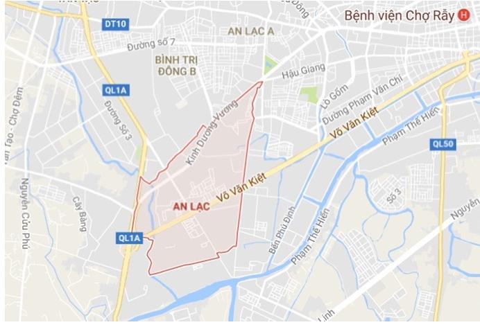Quy hoạch KDC Nam và Bắc đường Võ Văn Kiệt