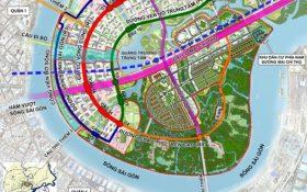 8.700 tỉ dời cảng Tân Thuận và xây dựng cầu Thủ Thiêm 4 nối Quận 7 và Quận 2 KĐT Sala