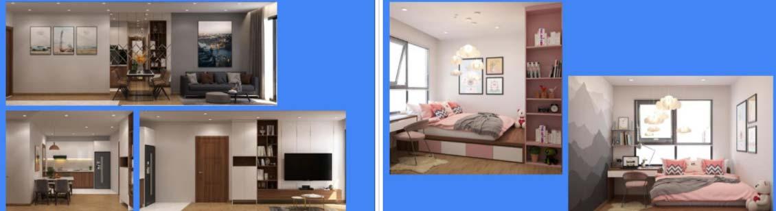 Thiết kế loại căn hộ 3PN - 3WC 84,4 m2