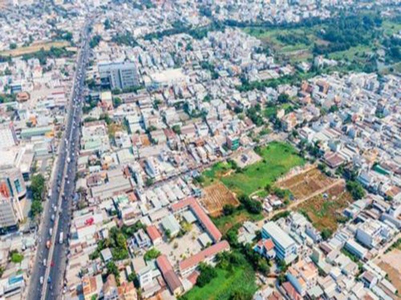 Hình ảnh bao quát huyện Bình Chánh